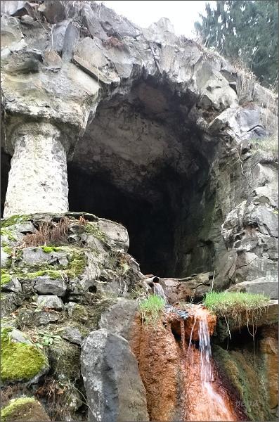 Kyselka, Mattoniho vodopád