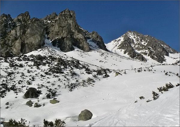 Mlynická dolina, Predné a Mlynické Solisko
