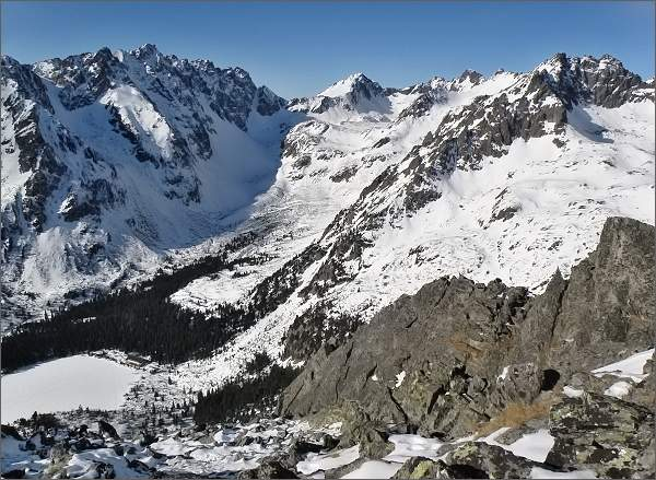 Mengusovská dolina z Tupej