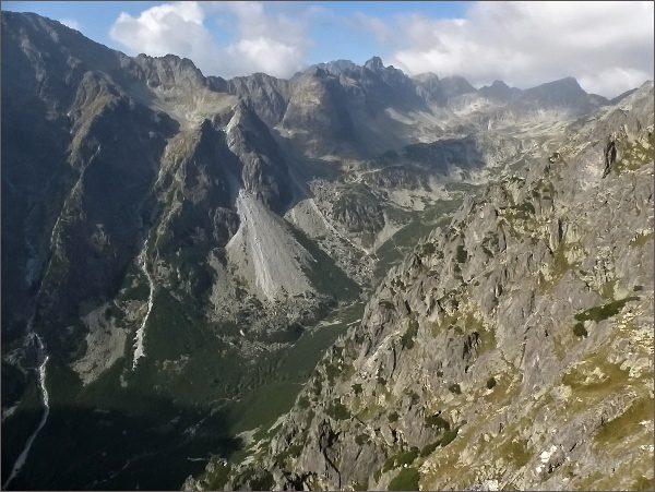 Veľká Studená dolina z Malého Kostola