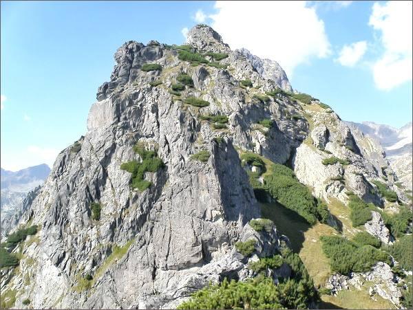 Veža nad Ohniskom z Kopy nad Ohniskom