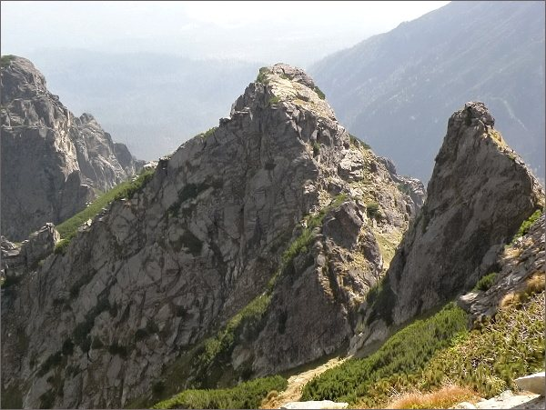 Kopa nad Ohniskom z Veže nad Ohniskom