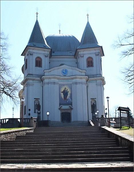 Bazilika Nanebevzetí Panny Marie na Svatém Hostýně