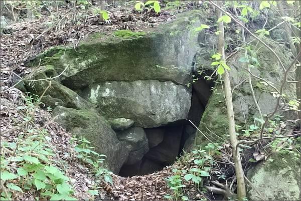 Hostýnské vrchy. Pseudokrasové jevy v Přírodní rezervaci Smrdutá