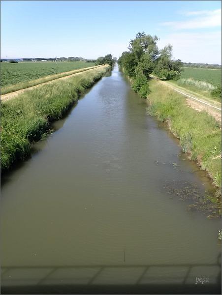 Baťův kanál pod Petrovem