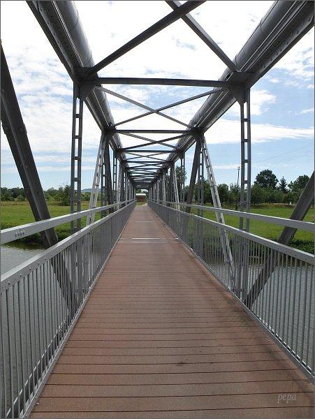 Most cyklostezky v Uherském Ostrohu