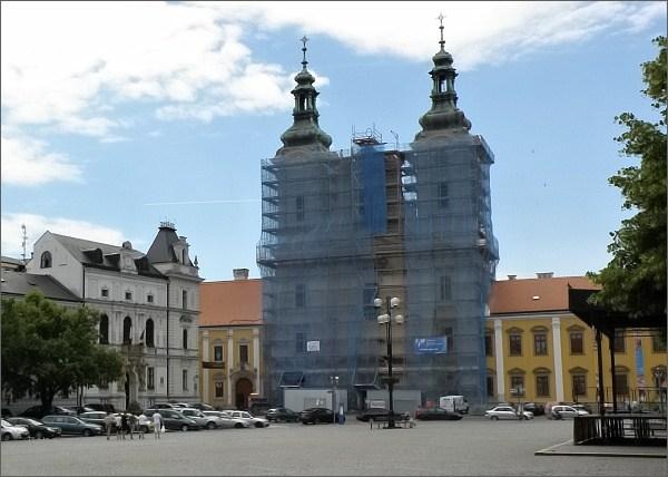 Uherské Hradiště. Kostel Sv. Františka Xaverského