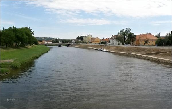 Morava v Uherském Hradišti