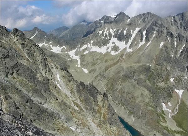 Velická dolina z Kvetnicovej veže
