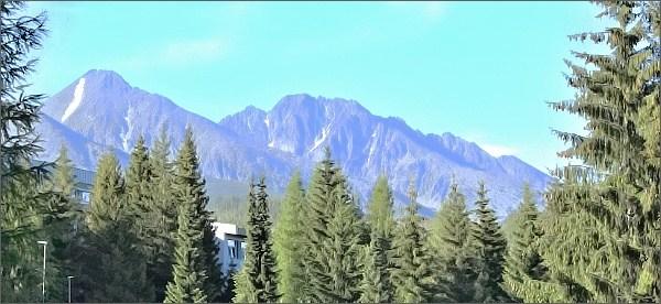 Kvetnicové hrby a Kvetnicová veža z Tatranskej Štrby
