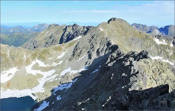 Závěr Furkotskej doliny z Veľkého Soliska