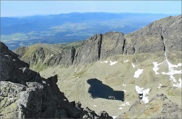 Prostredné Solisko, pohled do Furkotskej doliny