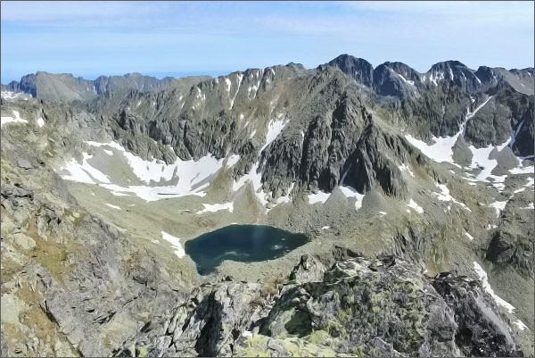 Závěr Mlynickej doliny z Prostredného Soliska