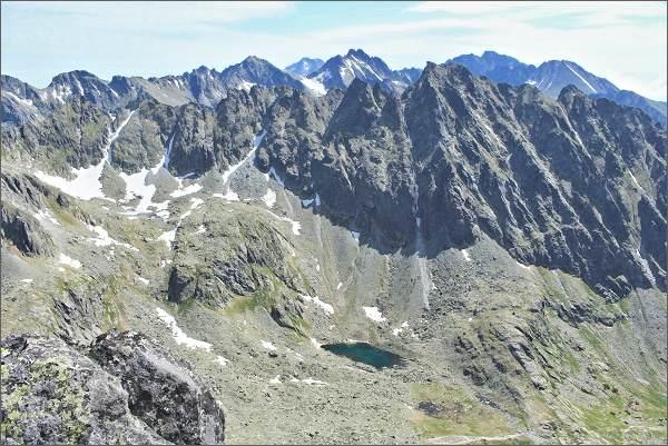 Mlynická dolina a Hrebeň Bášt z Prostredného Soliska