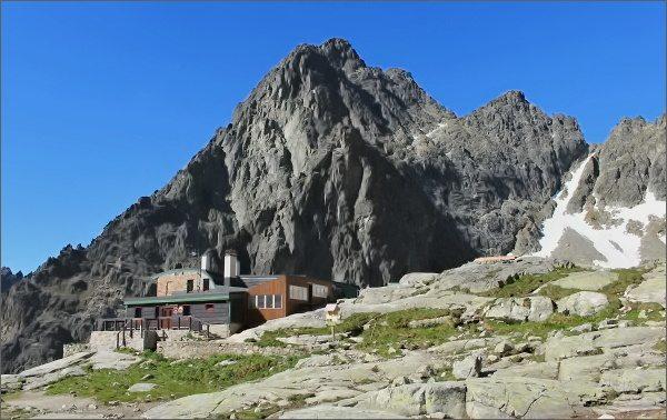 Téryho chata a Prostredný hrot