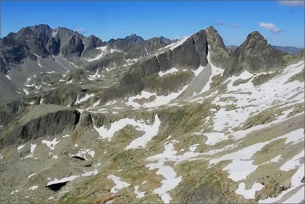 Veľká Studená dolina z Drobnej veže