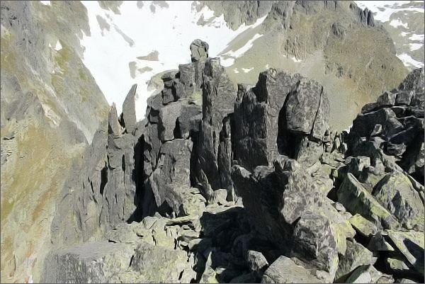 Sestup ze Sokolej veže je jednodušší, než na první pohled vypadá