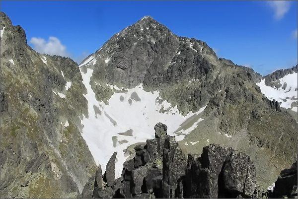 Ľadový štít ze Sokolej veže
