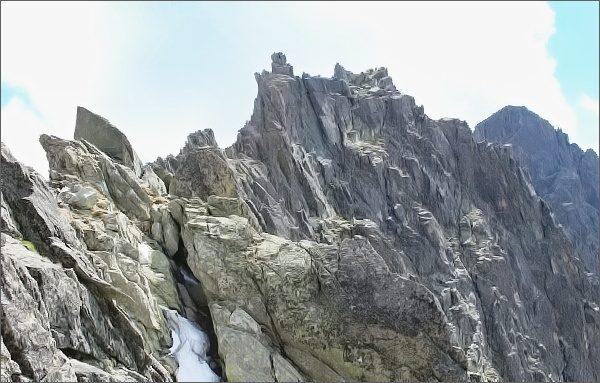 Vrchol Sokolej veže
