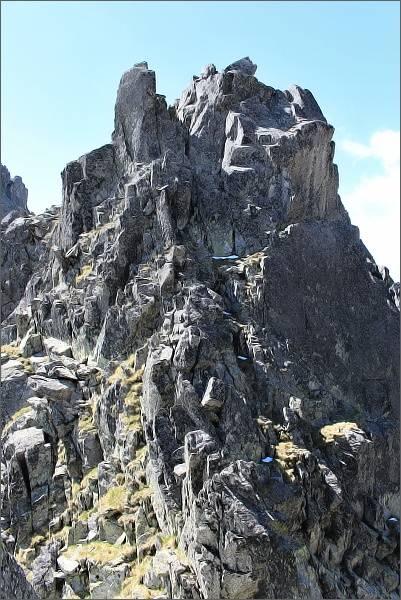 Drobná veža nad Drbnou štrbinou