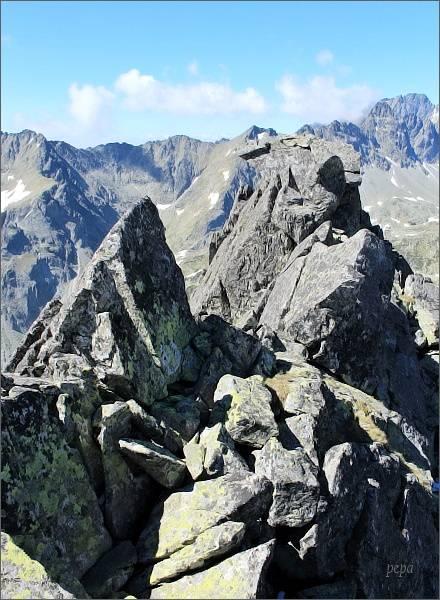 Drobná veža, jižní (hlavní) vrchol