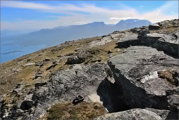 Na vrcholu hory Nuolja