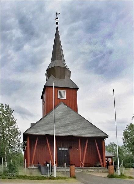 Sámský kostel v Kautokeinu