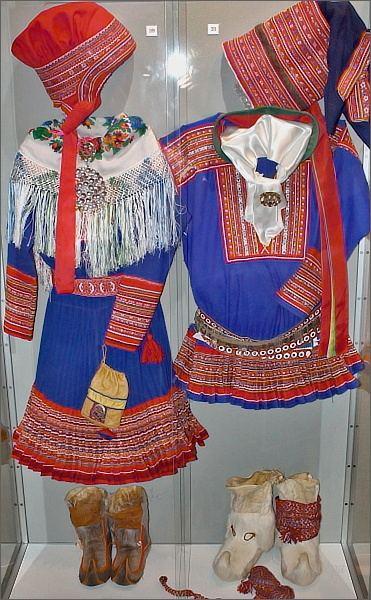 RiddoDuottarMuseat. Sámský oděv