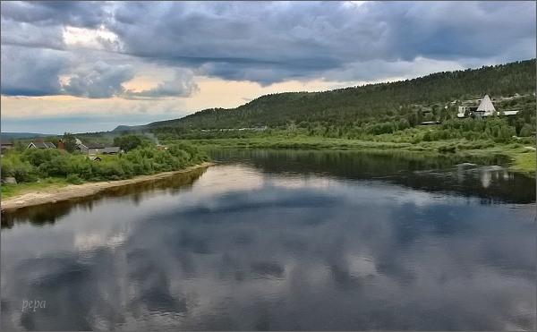 Karasjok, řeka Kárášjohka