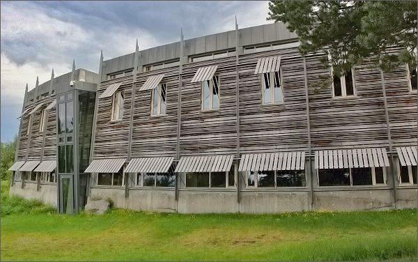 Karasjok. Sámský parlament Sámediggi