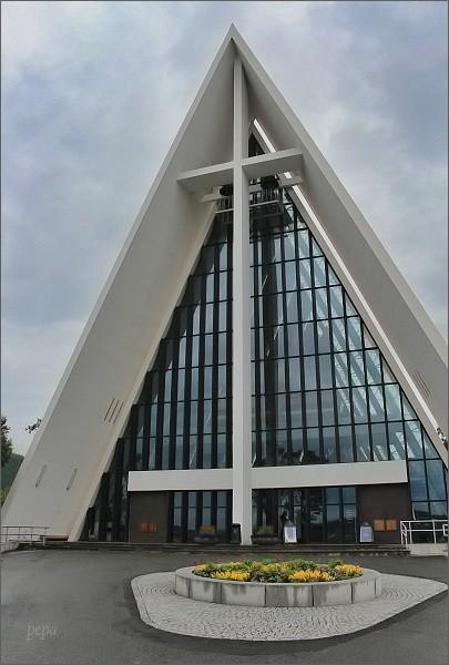 Tromsø, Arktická katedrála (Ishavskatedralen)