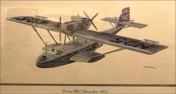 Polarmuseet Tromsø. Dornier Wal N24