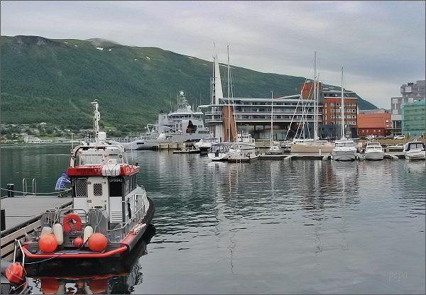 Tromsø, přístav
