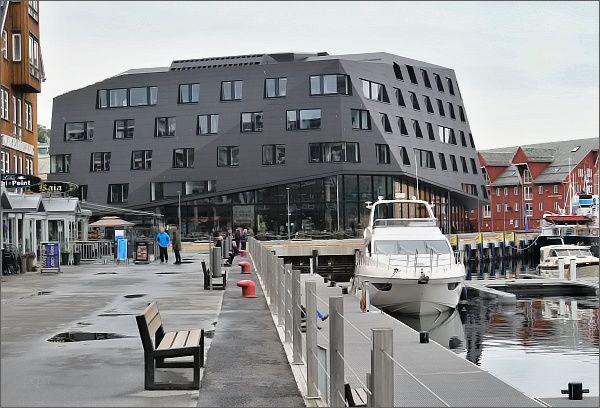 Tromsø, nábřeží