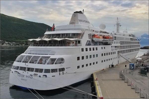 Tromsø. přístav