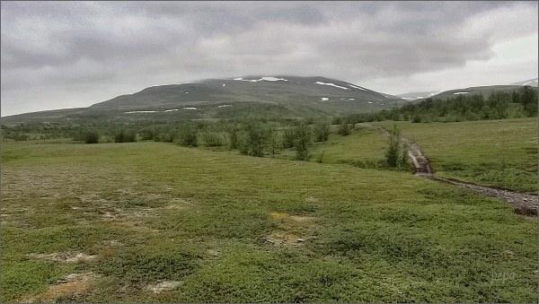 Národní park Stabbursdalen, hora Stuorra Binalvárri