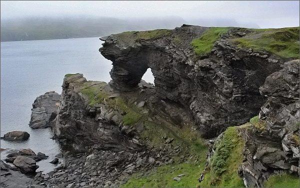 Ostrov Magerøya, Kirkeporten