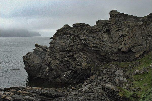 Ostrov Magerøya, geologické