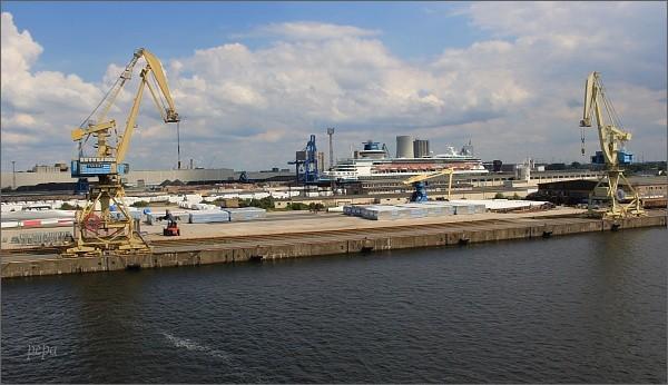 Rostock, přístav