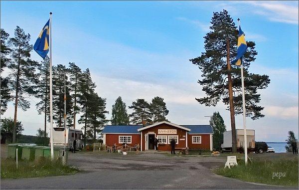 Camp Hamnkroa u města Töre