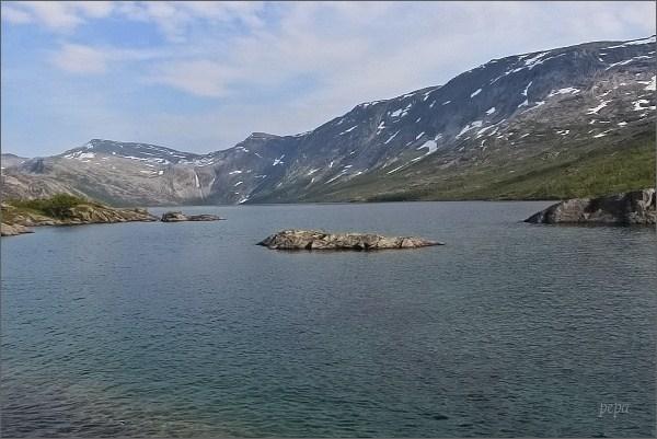 Národní park Rago. Jezero Litleverivatnet