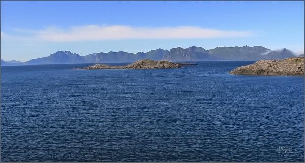 Henningsvær, pohled na Lofoty