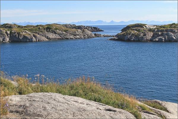 Na útesech v Henningsværu