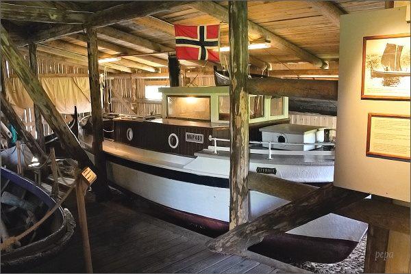 Kabelvåg, Lofotmuseet, rybářské lodě