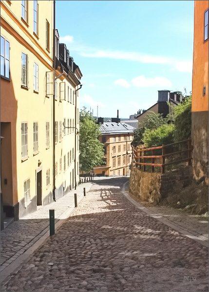 Staré uličky ostrova Södermalm