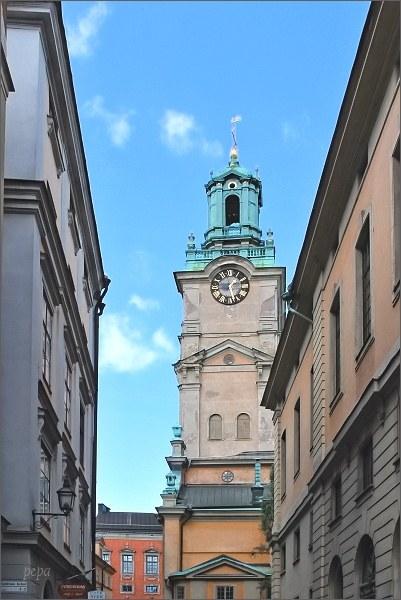 Stockholm, Gamla Stan. Kostel Storkyrkan