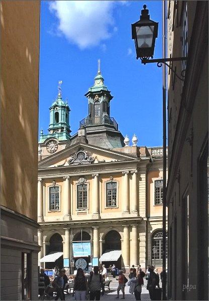 Stockholm, Gamla Stan. Nobelovo muzeum