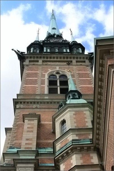 Stockholm, Gamla Stan. Tyska Kyrkan