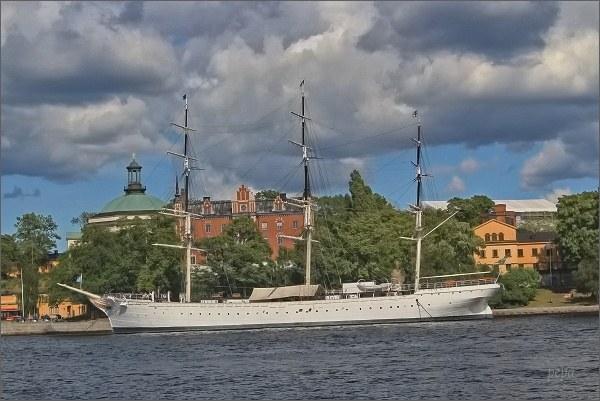 Stockholm. Trojstěžník Chapman