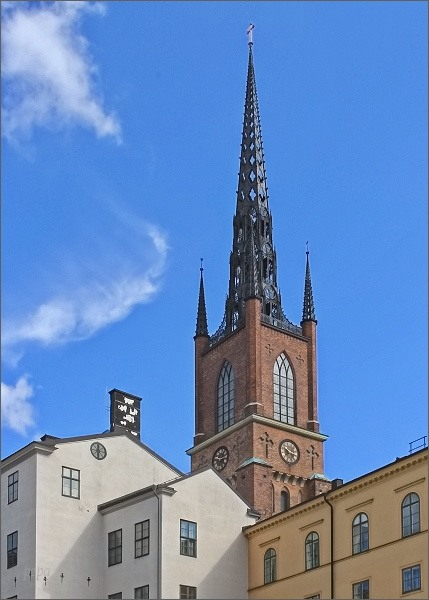 Stockholm. Kostel Riddarholmskyrkan